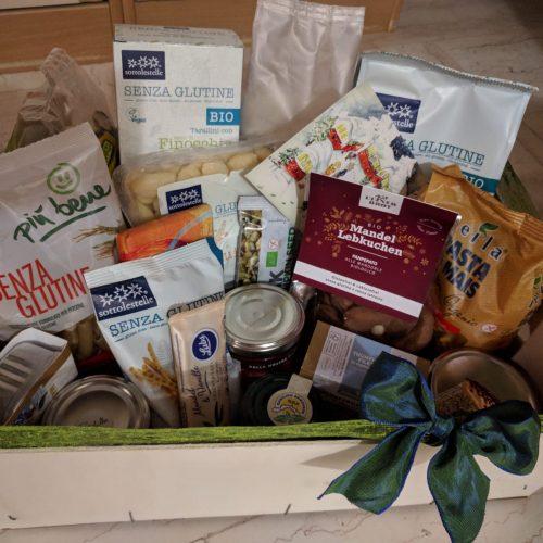 Confezione regalo con prodotti diversi